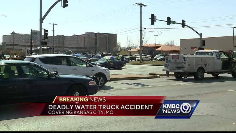 Man in wheelchair killed in crash involving city water truck