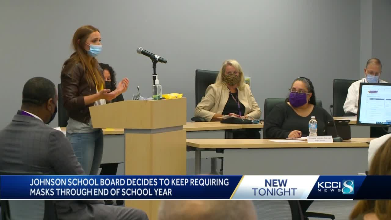 Central Iowa schools debate mask requirements for students, staff