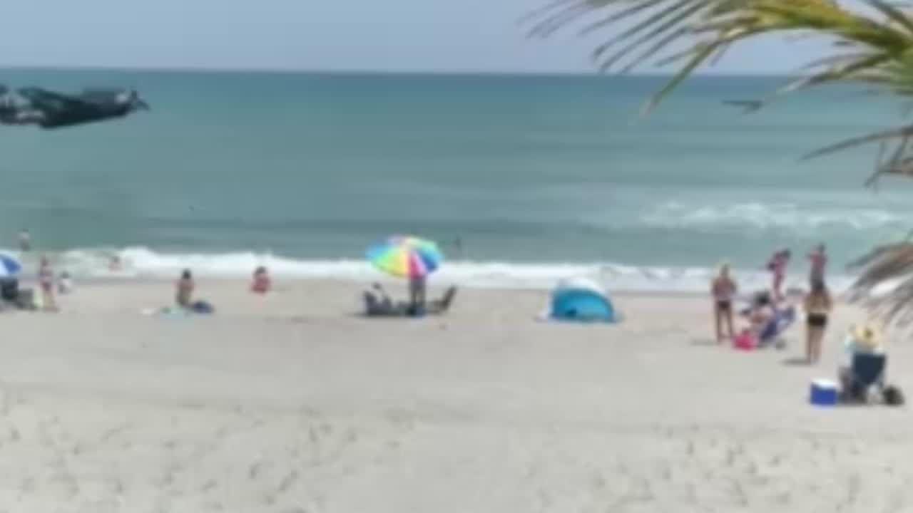 Cocoa Beach Air Show plane crash