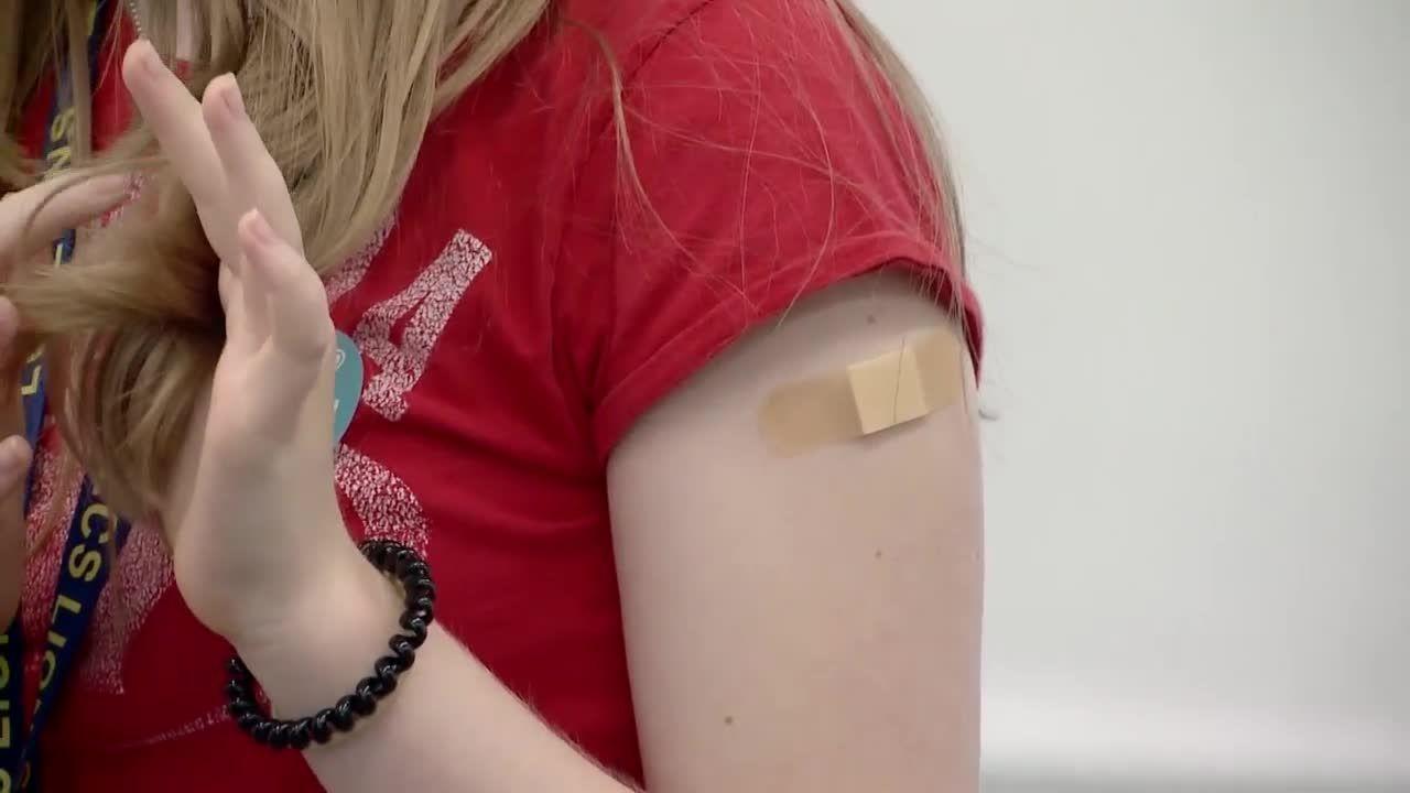 Kids ages 12 to 15 get coronavirus vaccine