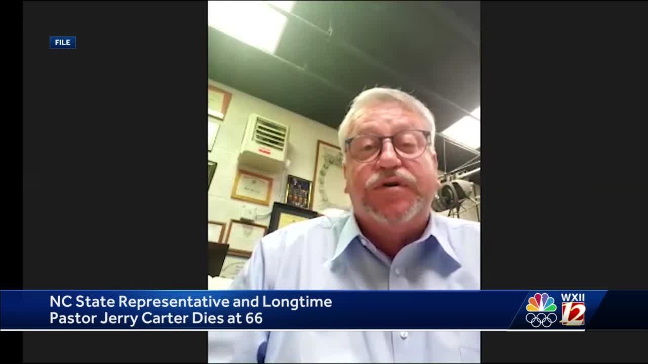 North Carolina Rep. Jerry Carter dies