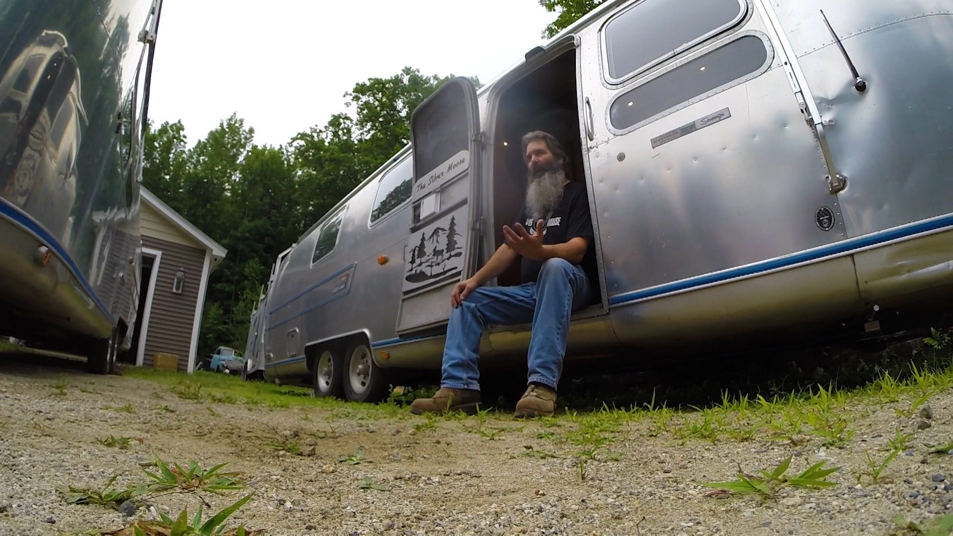 Maine man brings forgotten campers back to life