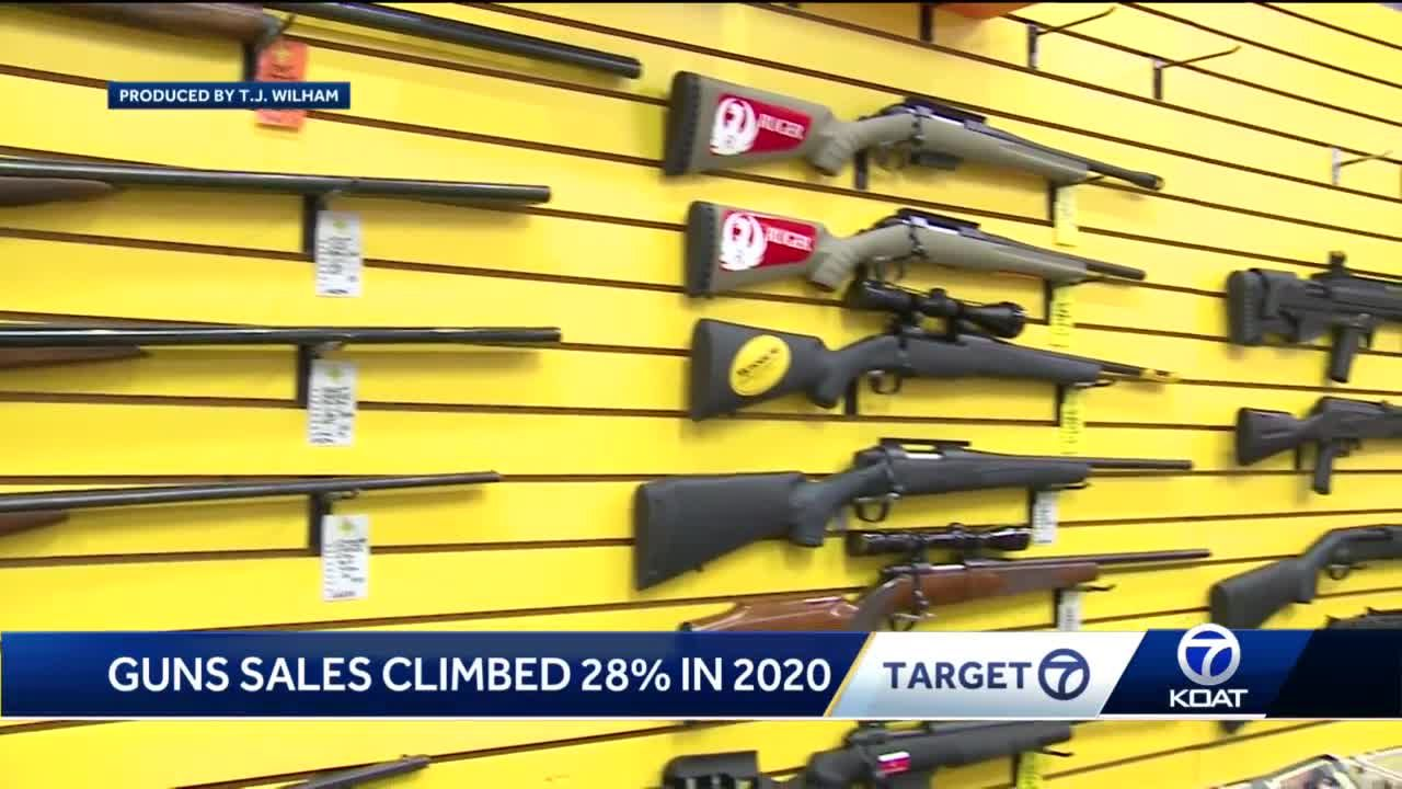 Gun sales surging in New Mexico