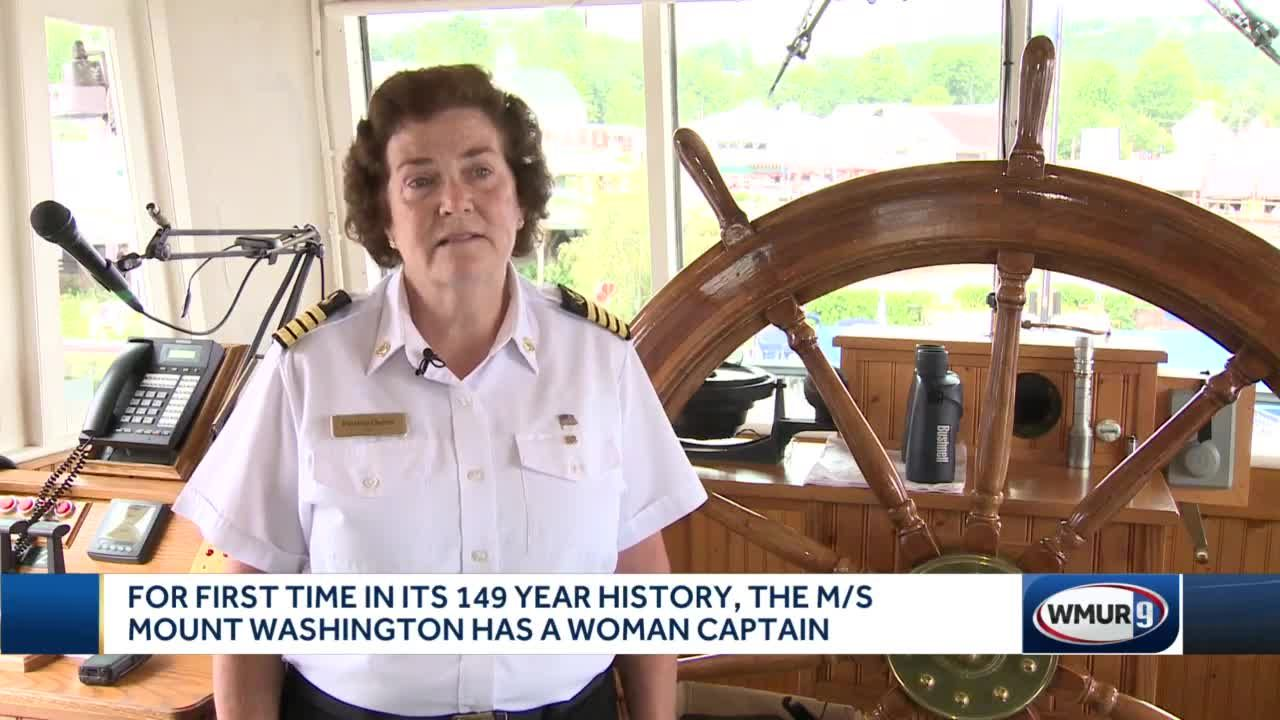 For first time, the MS Mount Washington has a woman captain