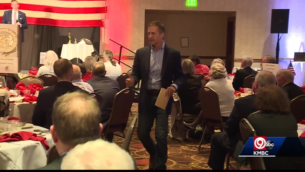 Missouri GOP Senate candidates pledge loyalty to Trump