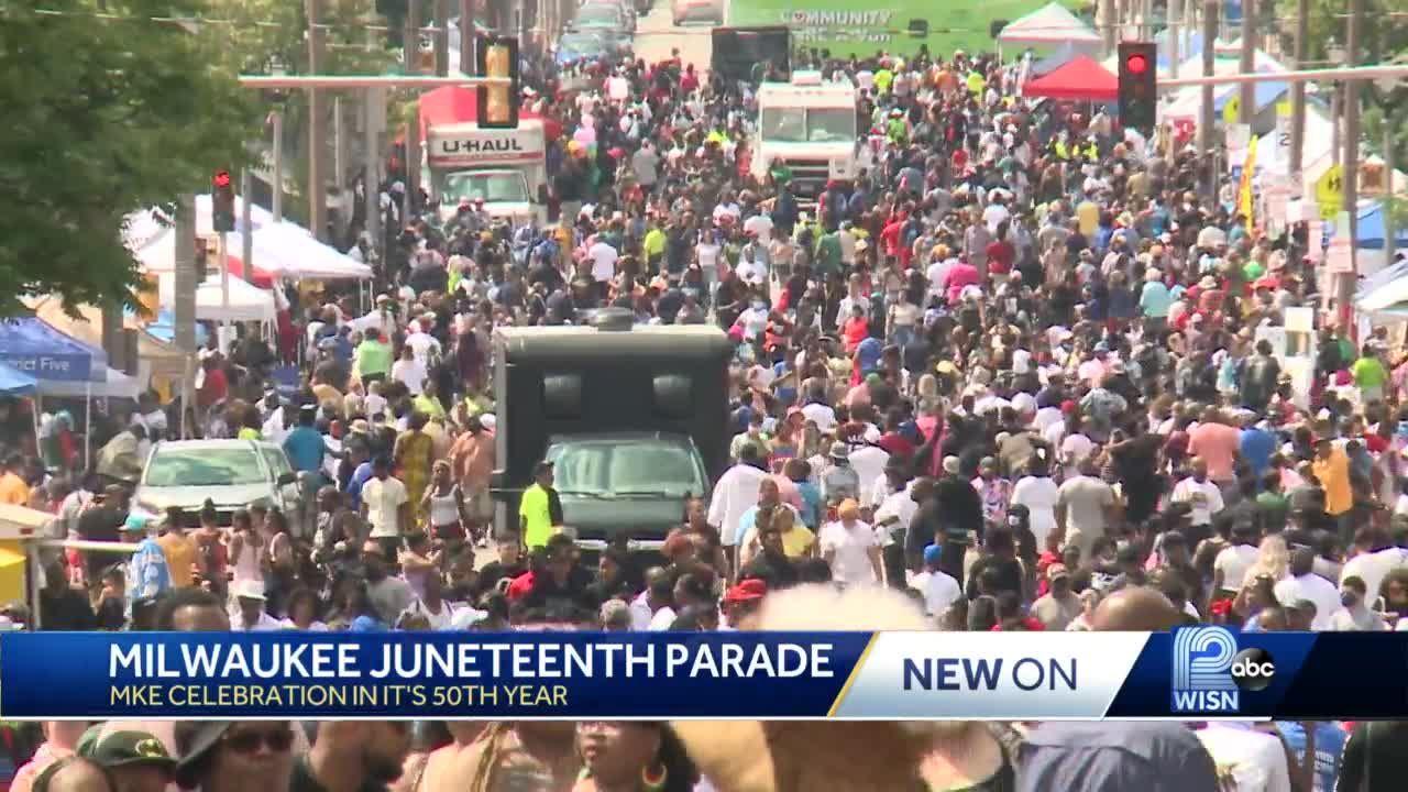 Milwaukee celebrates Juneteenth