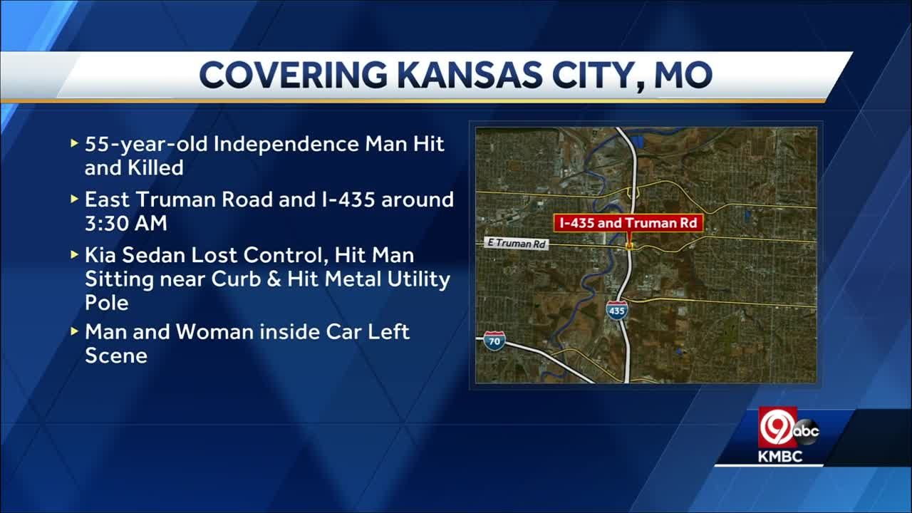 Kansas City police searching for suspects after man hit by car, killed