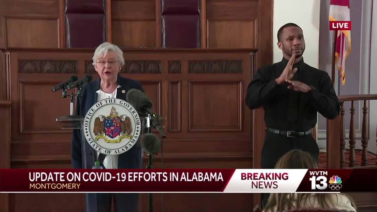 Alabama governor announces Safer Apart health order