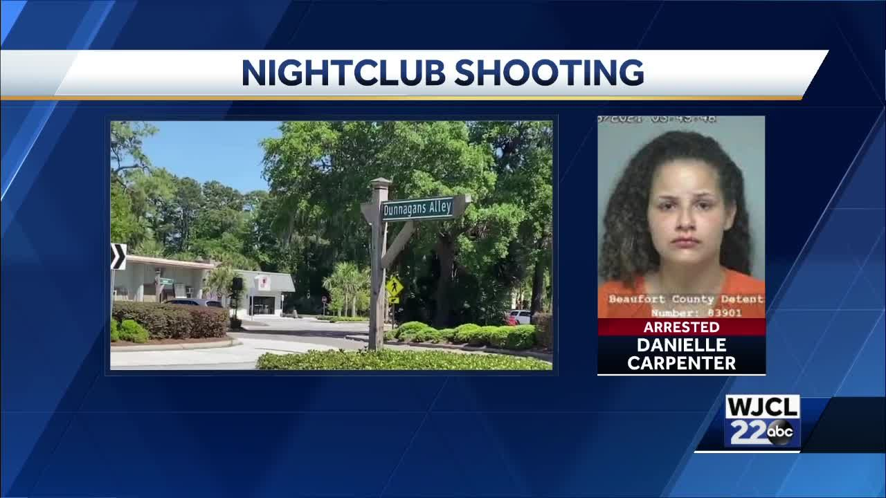 POLICE: Woman arrested following shooting outside Hilton Head nightclub