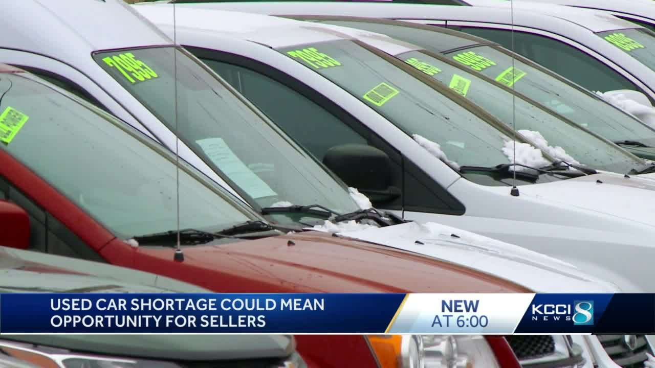 Demand for used cars high due to new car shortages