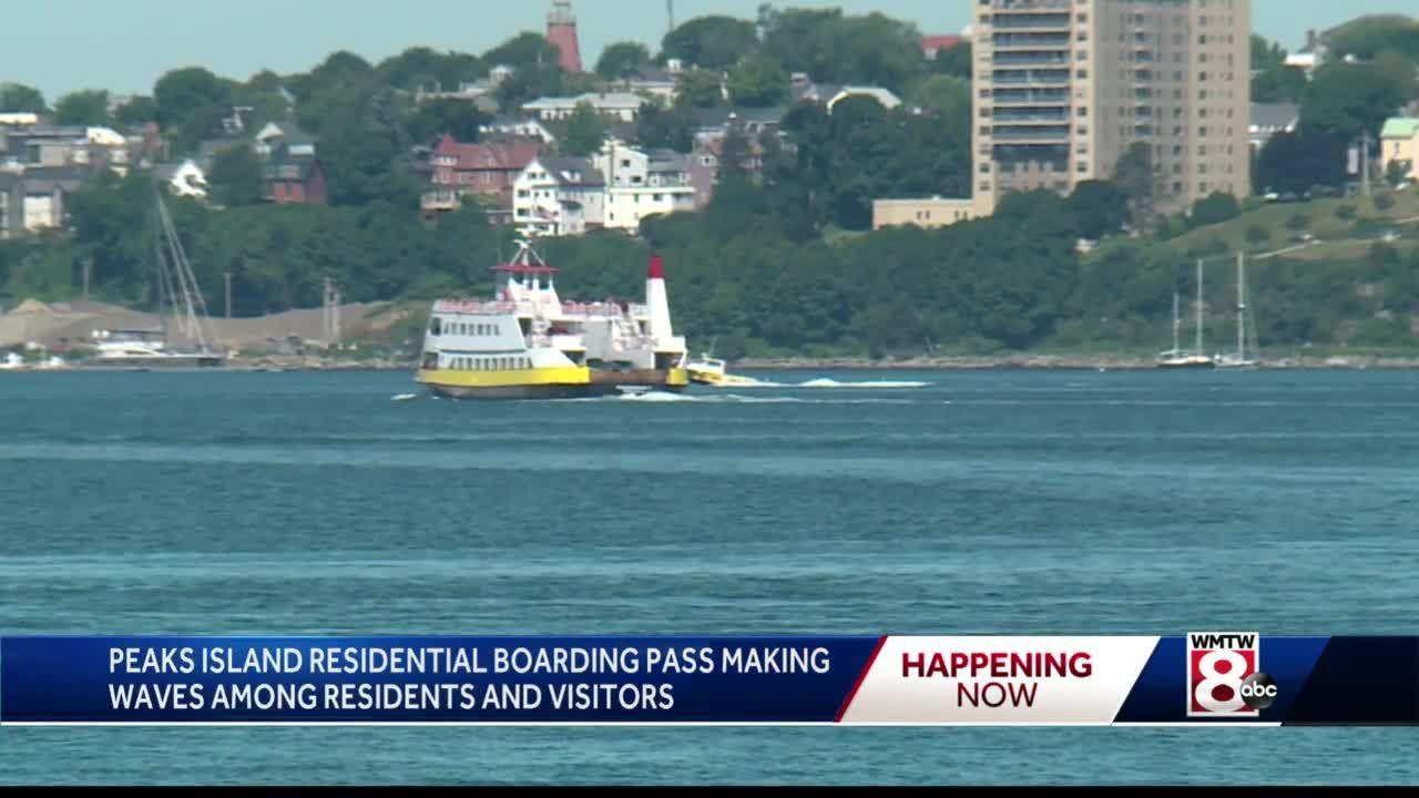 Peaks Island resident boarding pass program