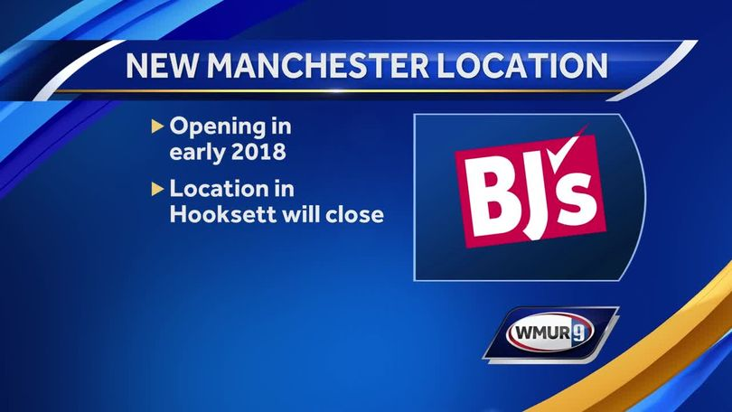 BJ's Wholesale Club in Hooksett to move to Manchester in 2018