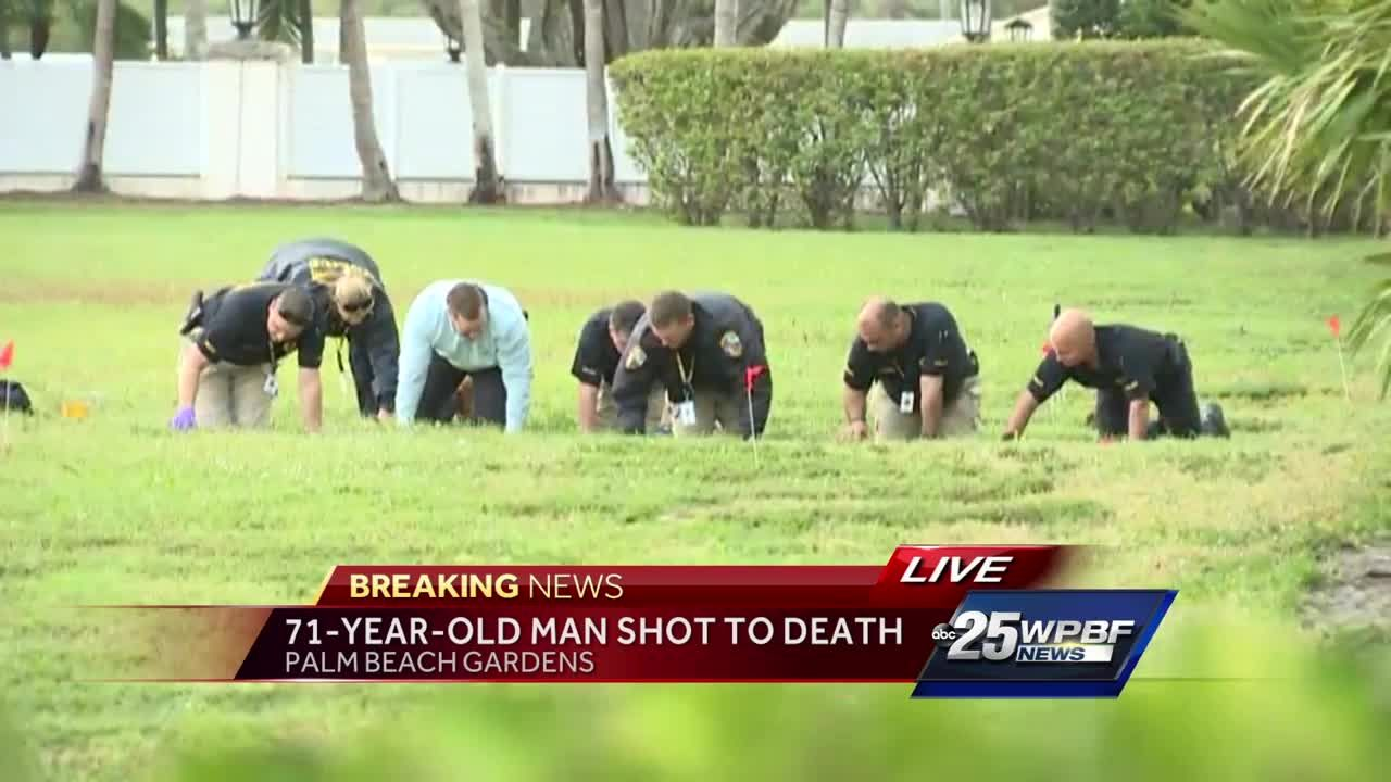 71-year-old man shot to death in Palm Beach Gardens