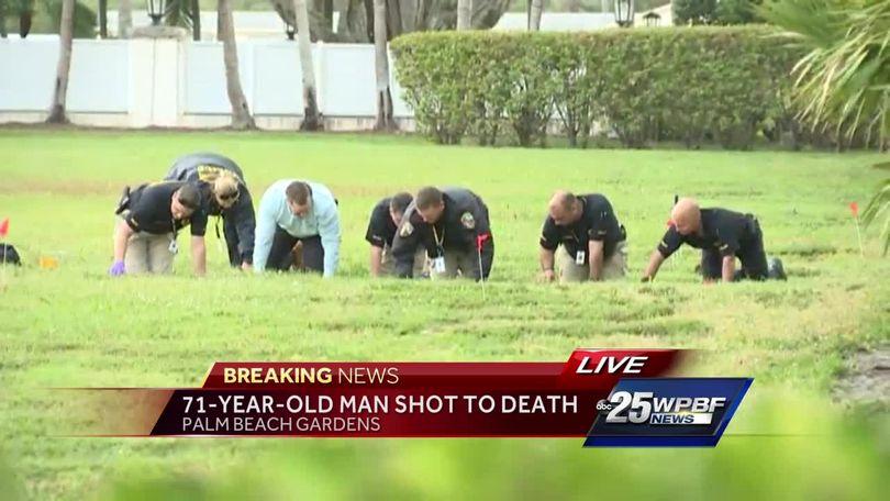71-year-old man shot to death in Palm Beach Gardens