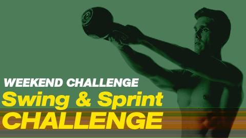 The Swing and Sprint Challenge