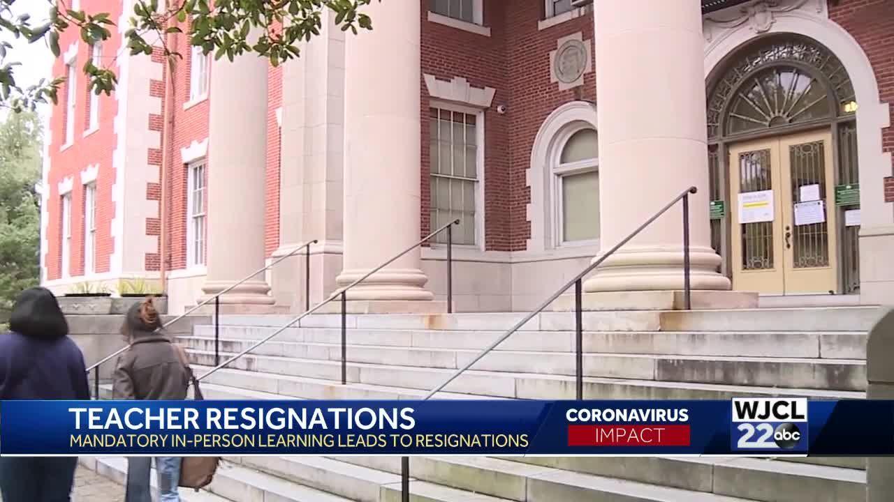 Teacher Resignations