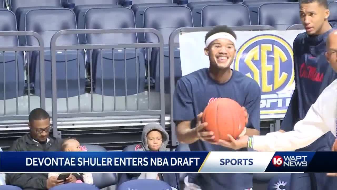 Devontae Shuler of Ole Miss enters NBA Draft