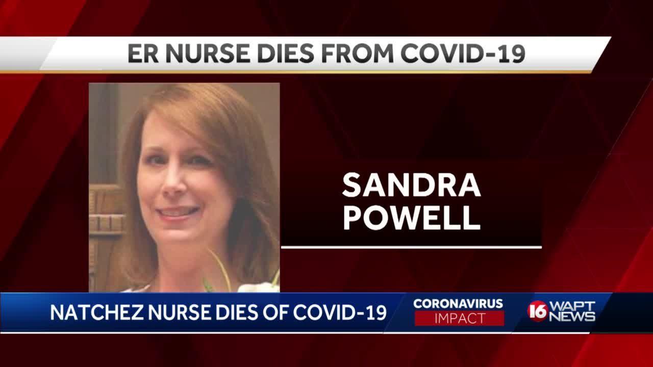 Nurse dies of COVID-19
