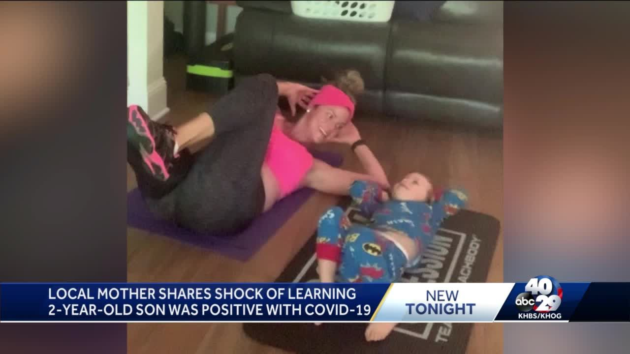 Siloam Springs toddler diagnosed with COVID-19, had 'mild symptoms'