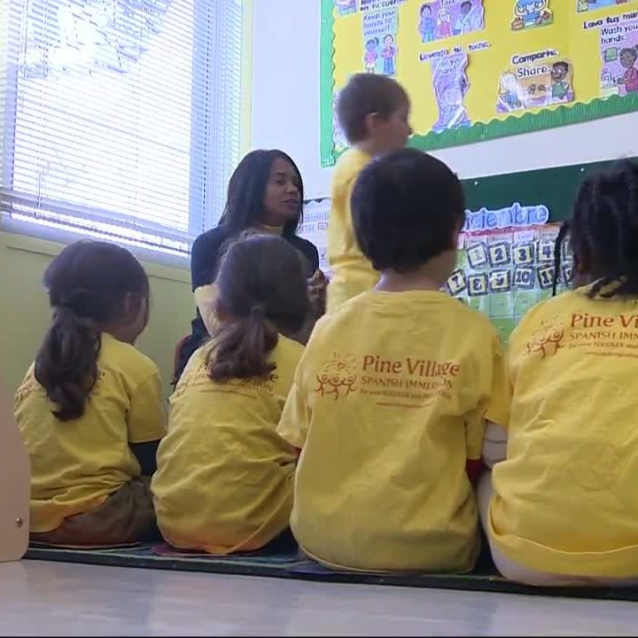 Preschoolers use 'mindfulness' techniques to control outbursts