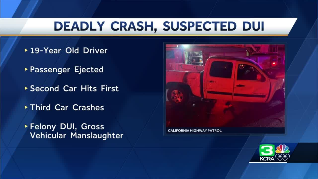19-year-old arrested after deadly suspected DUI crash in Sacramento