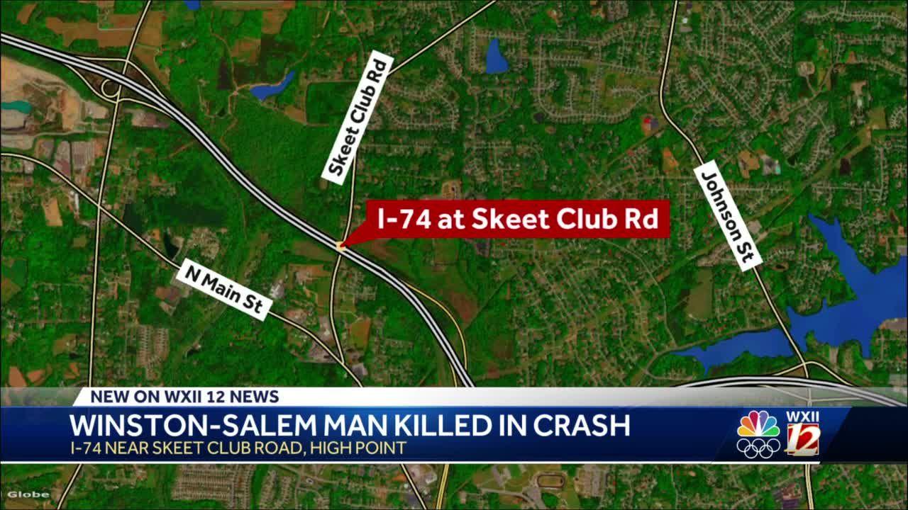 Winston-Salem man killed in I-74 crash, police say