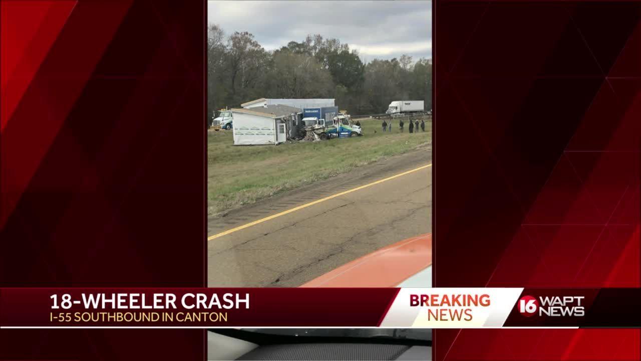 18-Wheeler crash