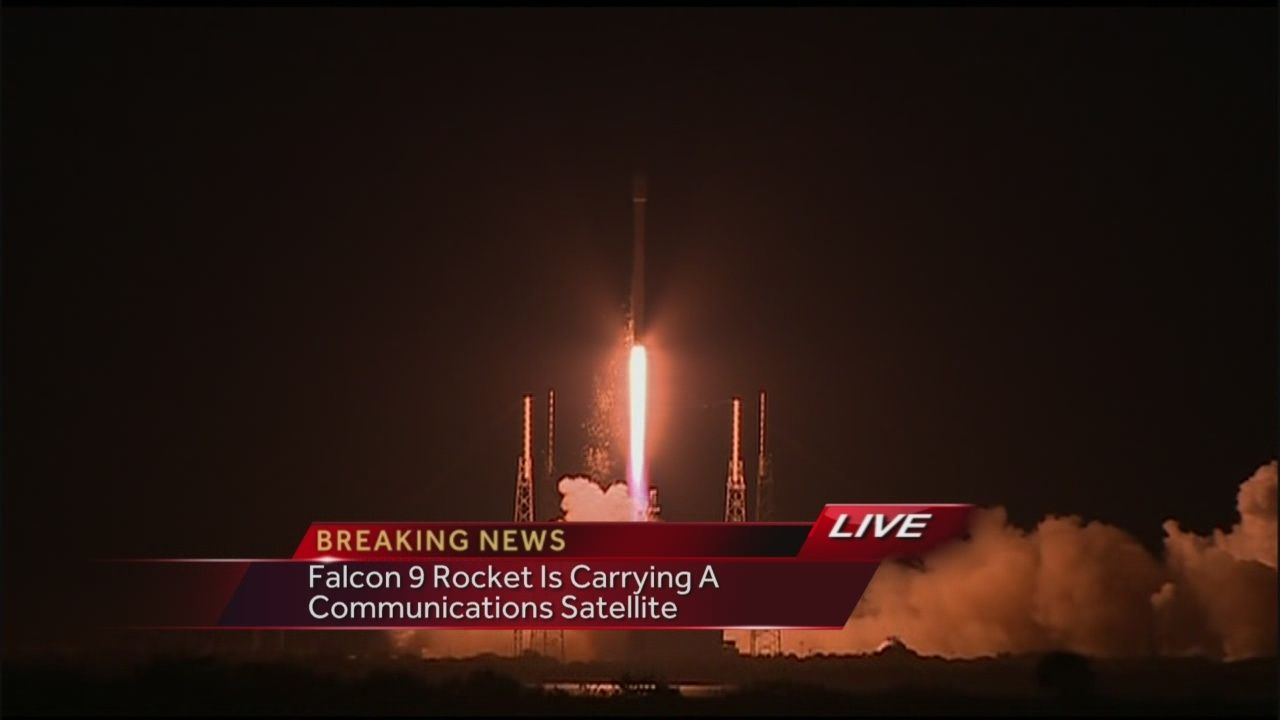 SpaceX Falcon9 rocket launches live on WESH 2 News