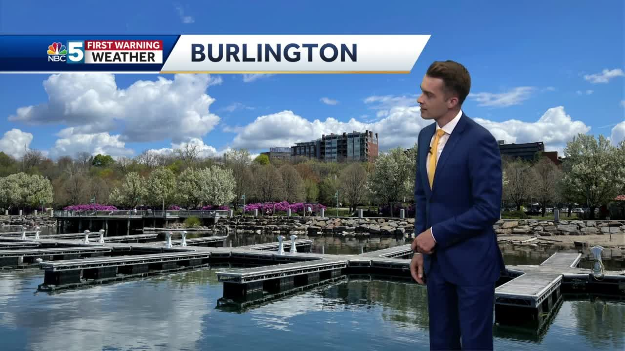 Video: Scattered showers on Monday (5-9-21)