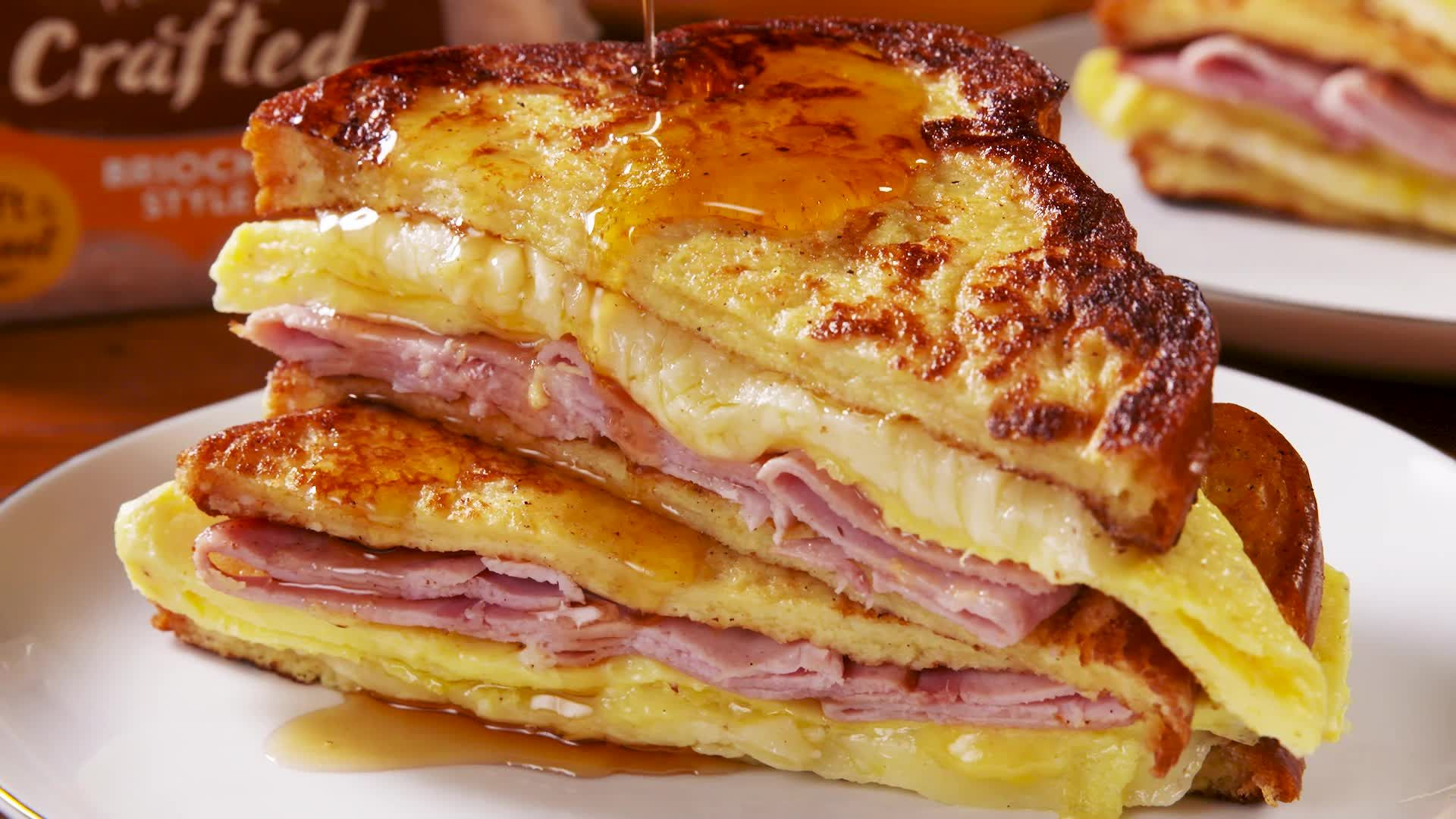 French Toast Breakfast Sandwiches