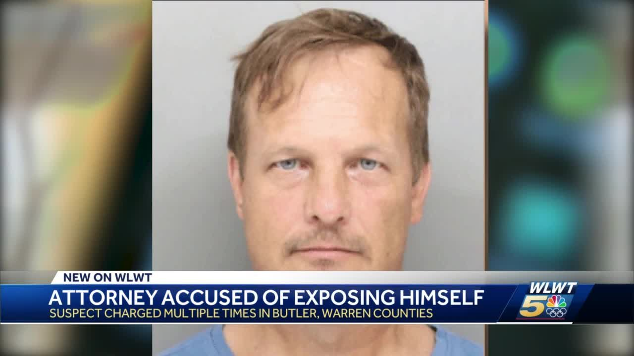 Attorney accused of exposing himself charged multiple times in Butler, Warren counties