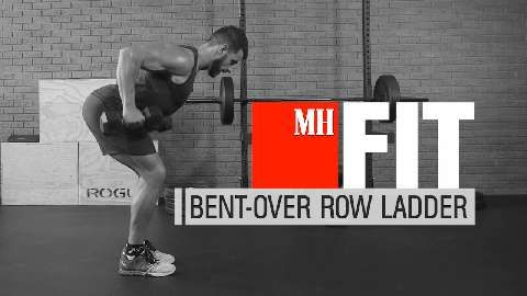 Build a Bigger, Stronger Back with This 55-Rep Row Ladder