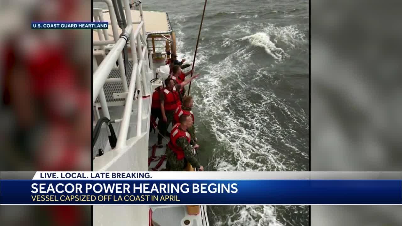 seacor testimony