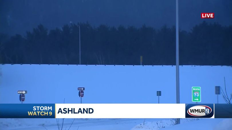 Snow piling up in Ashland area