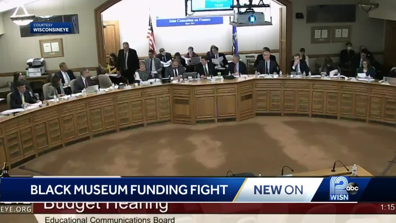 Lawmakers disagree over funding for Wisconsin Black Historical Society