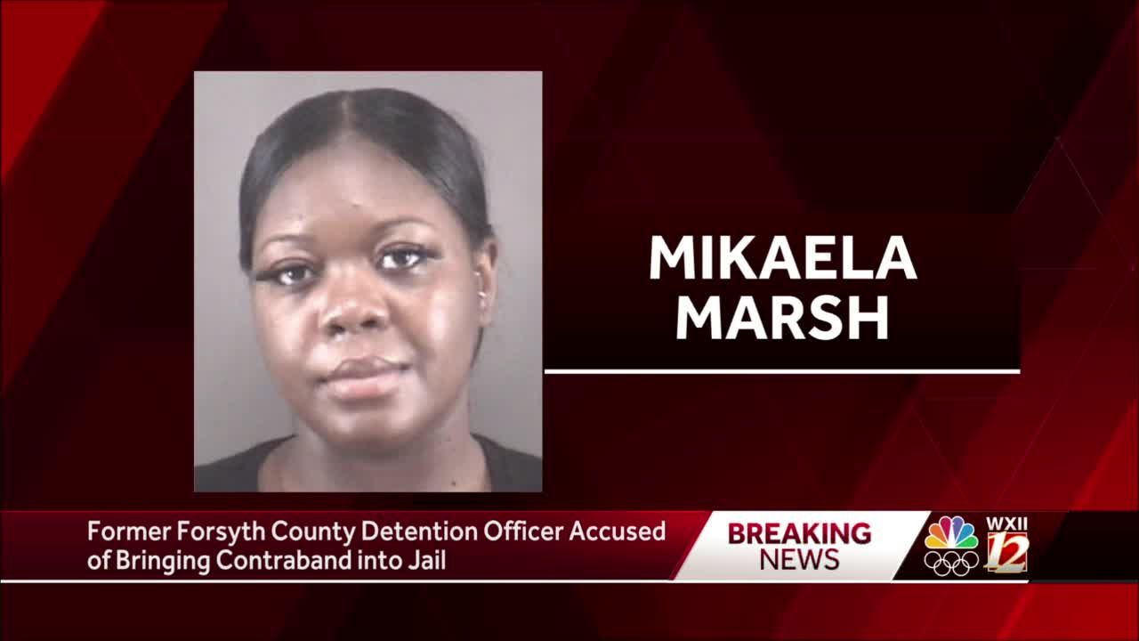 Forsyth County Sheriff's Office arrests former detention officer for bringing contraband into facility