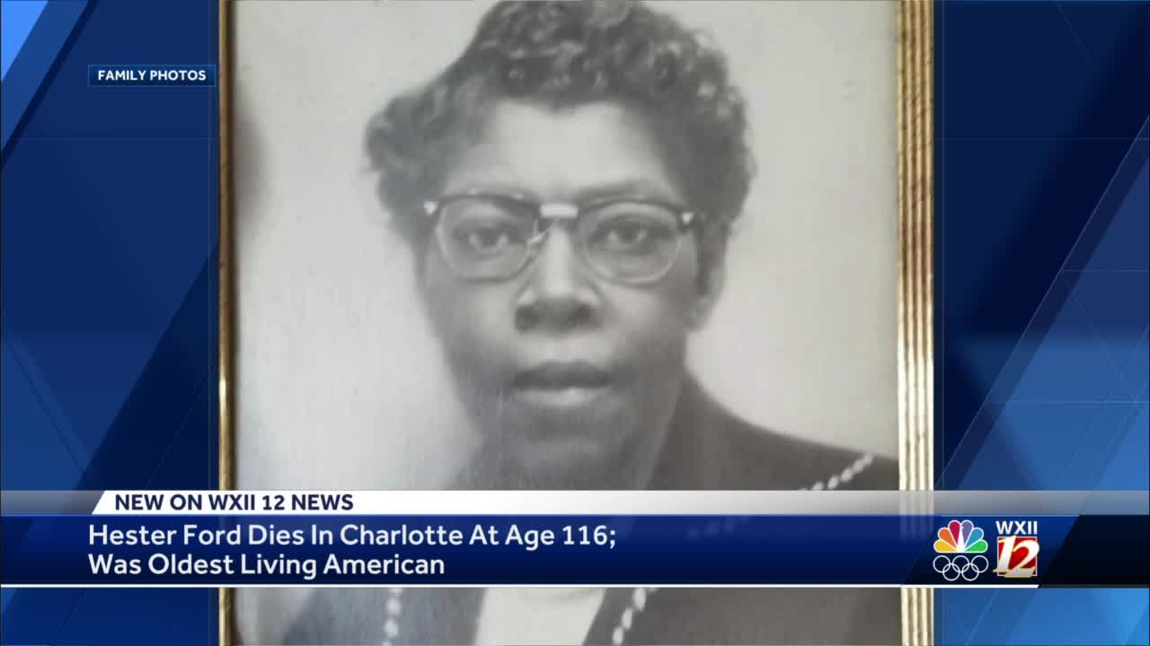 North Carolina's Hester Ford, oldest living American, dies at 116