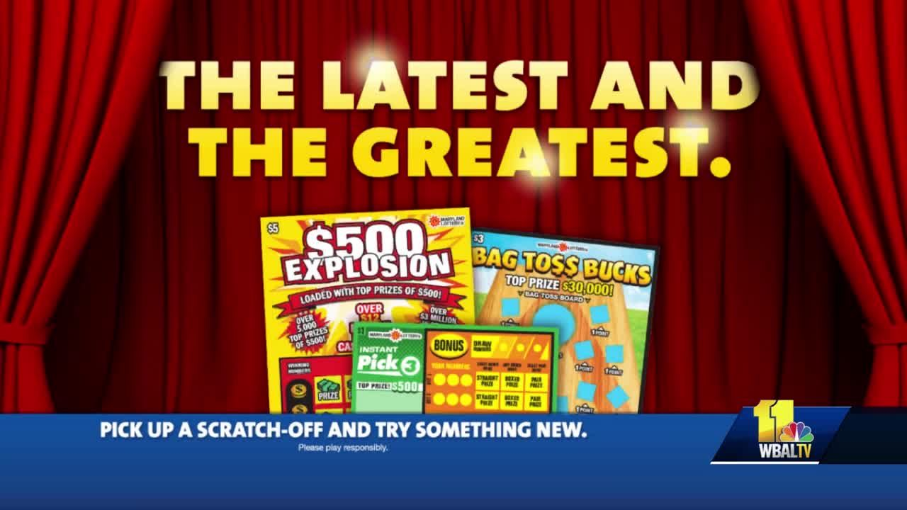 Here are Maryland Lottery's latest scratch-off games!