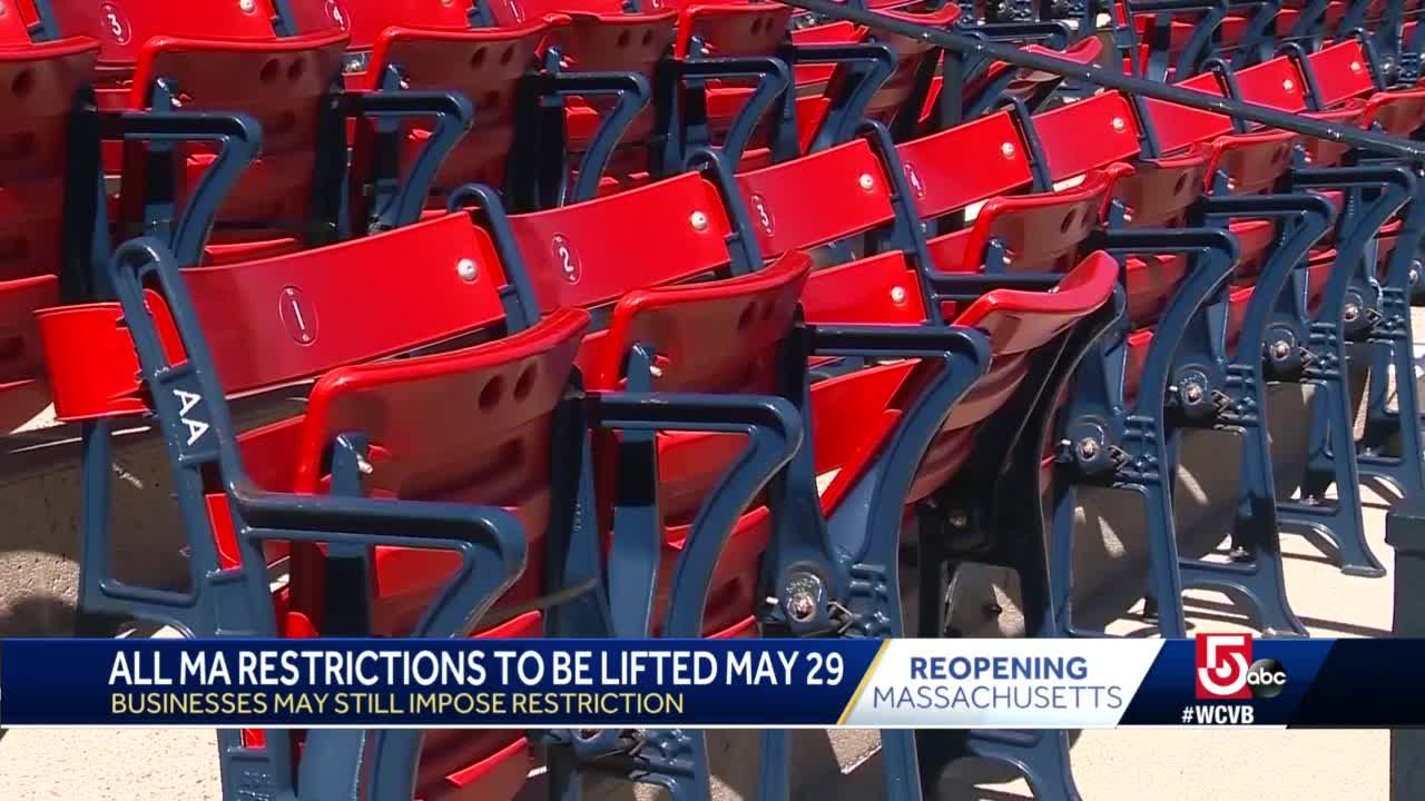 Every seat filled; Fenway plans to reopen to full capacity on May 29