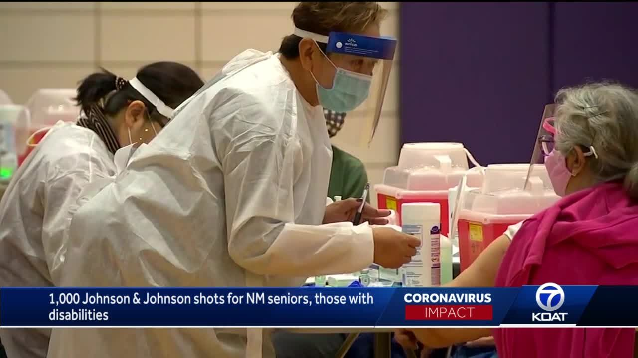NM to set aside some Johnson & Johnson COVID-19 vaccine doses for seniors, those with disabilities