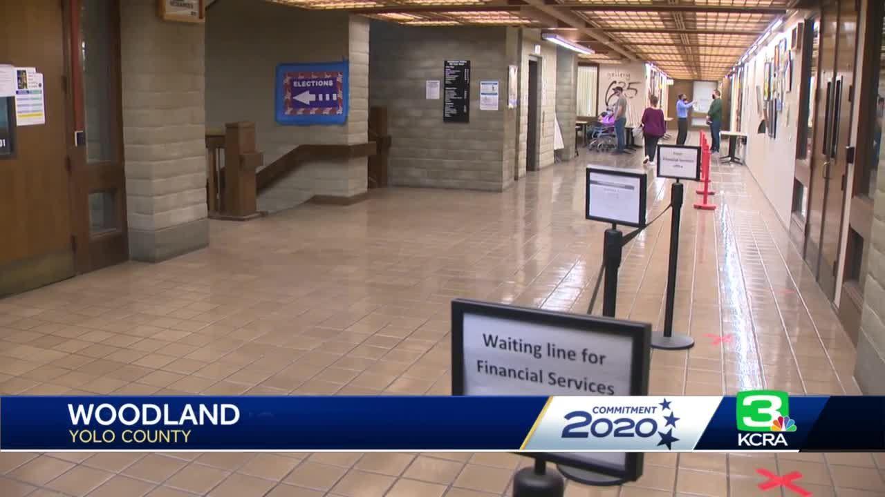 Vote centers open in Yolo County