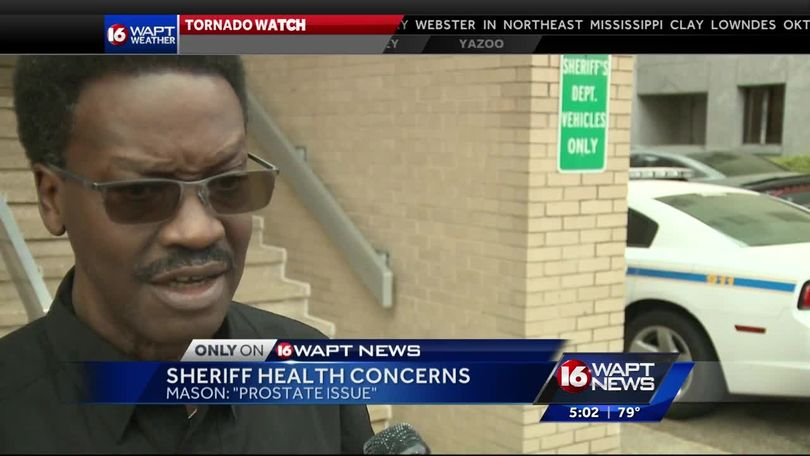 Hinds sheriff dispels health rumors