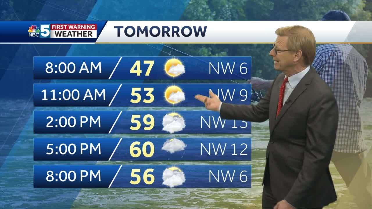 Video: Tom Messner says more showers for Wednesday. 5.11.21
