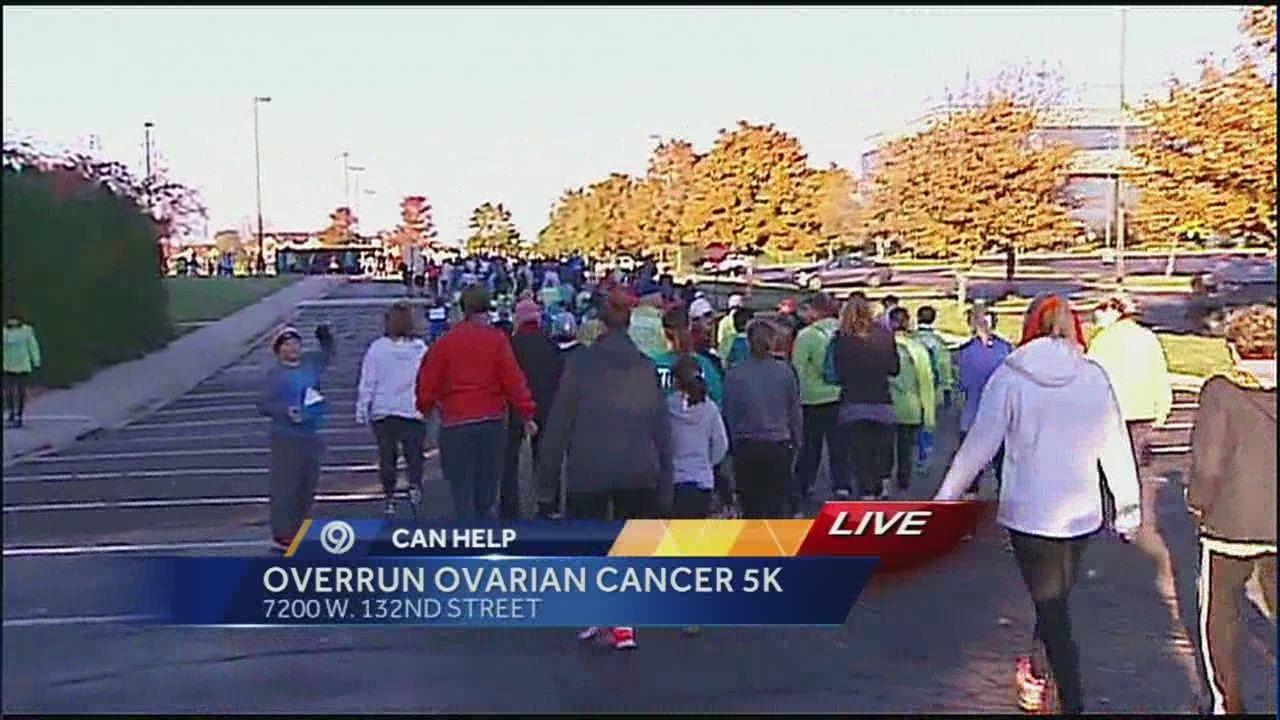 Run Walk Raises Awareness Money For Ovarian Cancer