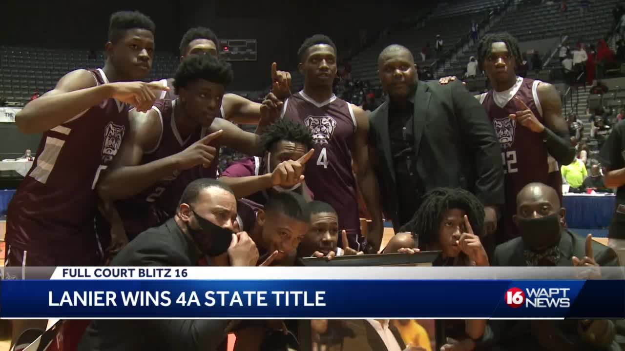 Lanier wins the 4A state title over Raymond