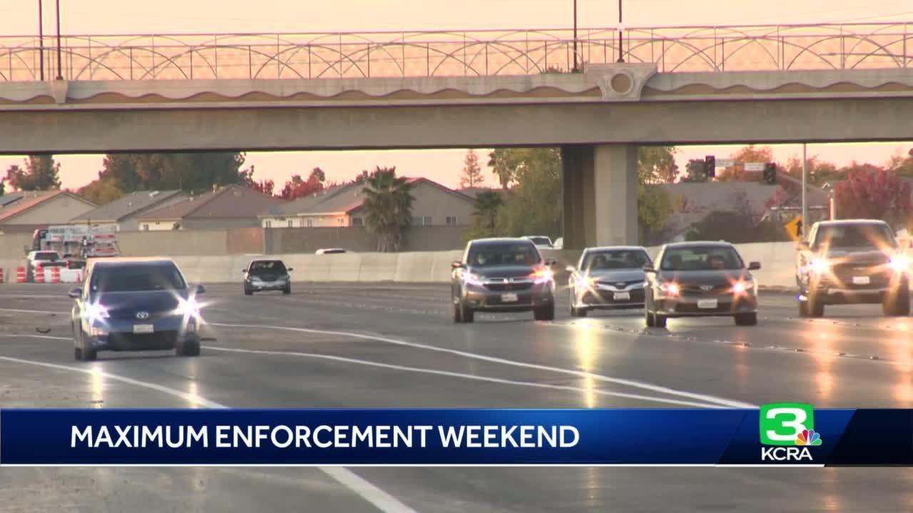 CHP's Maximum Enforcement Period underway for Thanksgiving holiday