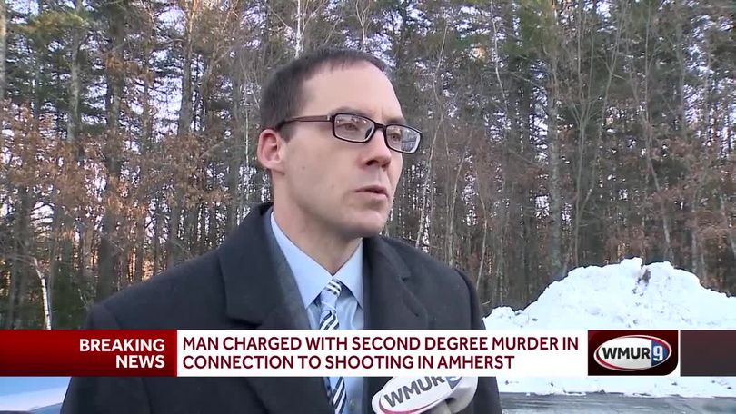 Man charged with murder in Amherst shooting
