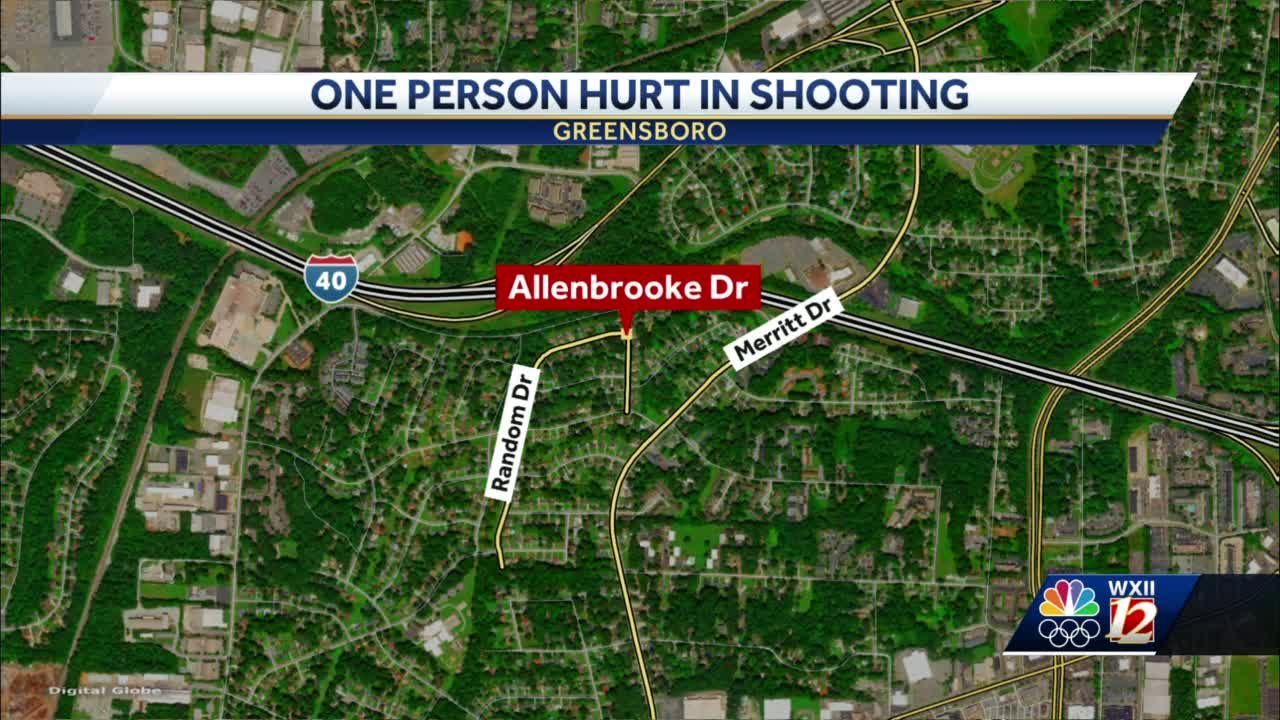 One person shot in Greensboro