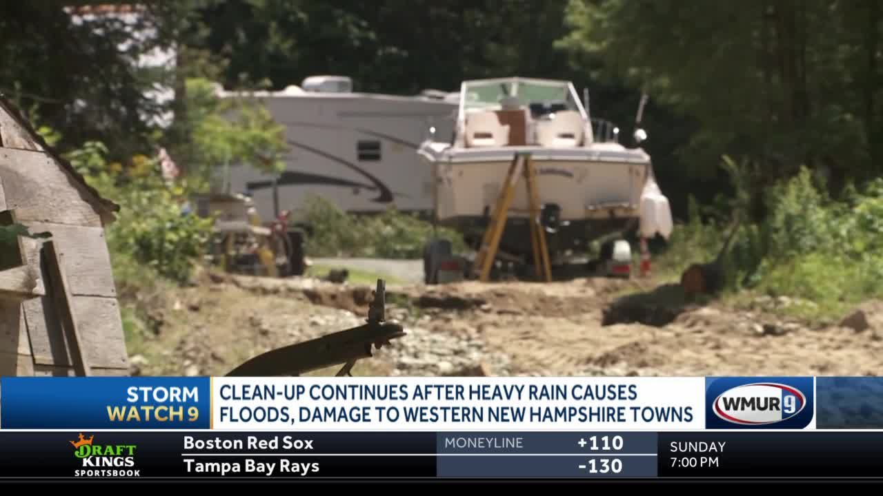 Upper valley cleanup continues after heavy flooding