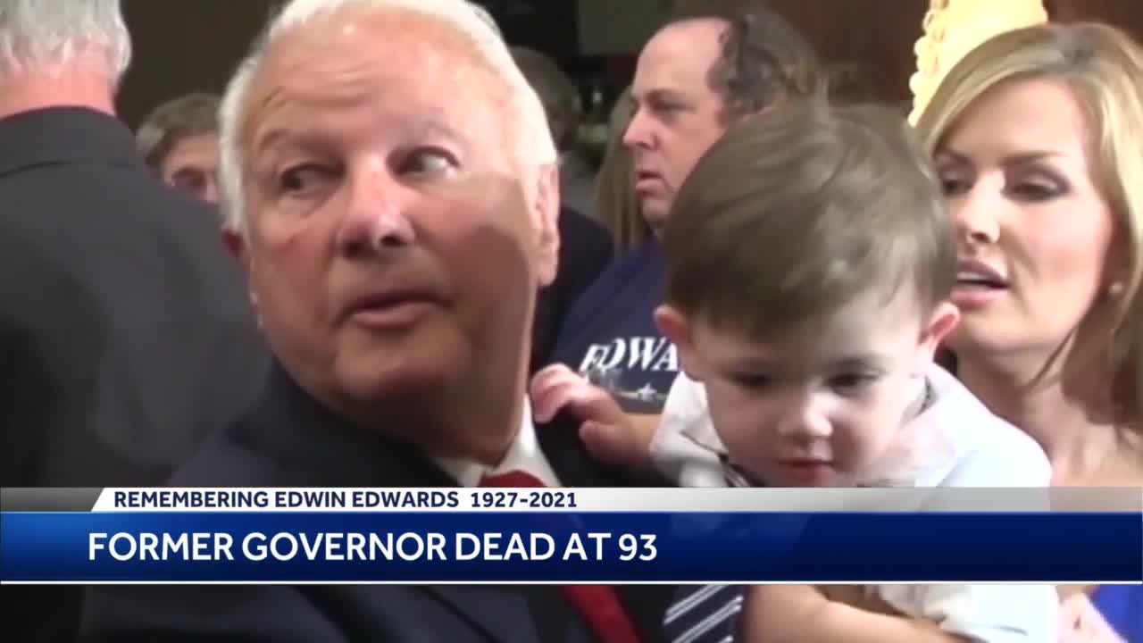 Remembering Edwin Edwards, former Louisiana governor